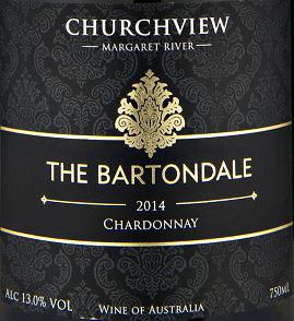 Churchview The Bartondale Chardonnay Label