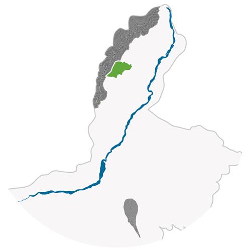 Ningxia Hejinzun Winery Helanhong Cabernet Sauvignon Vineyard Map