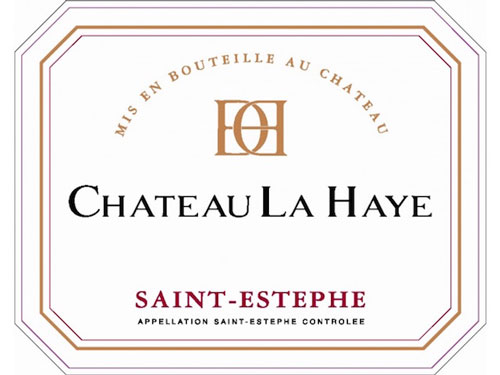 Chateau la Haye Saint-Estephe Label