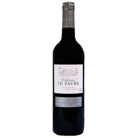 Château Le Faure AOC Bordeaux Rouge 2018
