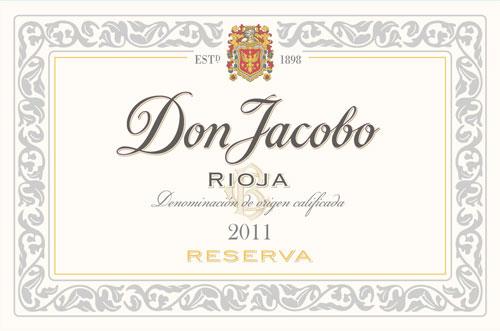 Don Jacobo Reserva label