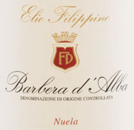Elio Filippino Barbera d'Alba Nuela Label