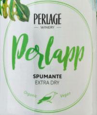 Perlage PerlApp Spumante Extra Dry Label